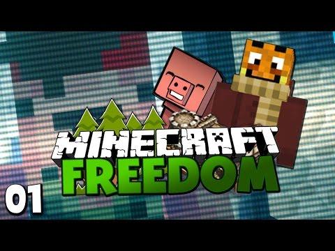 DIE YOUTUBER KLON-MASCHINE & MISSET BANDITEN! ✪ Minecraft FREEDOM #01