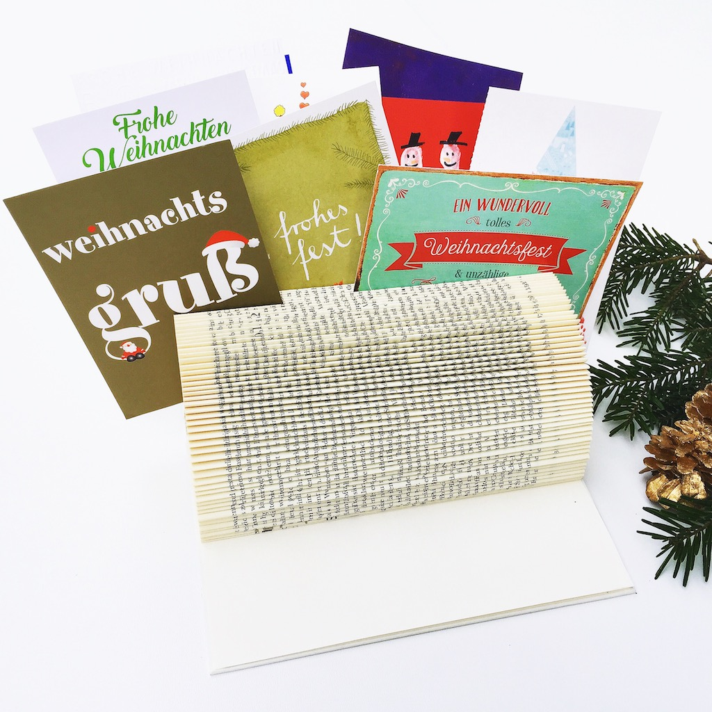 Bookart - DIY - Kartenhalter