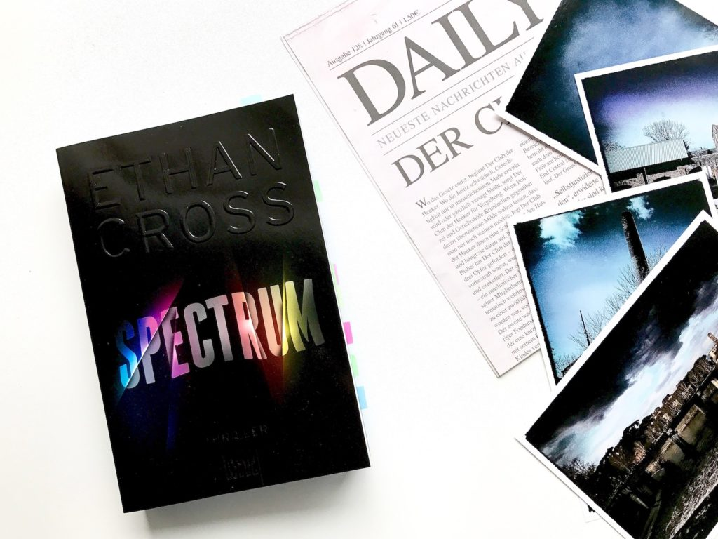 Bookstagram - Ethan Cross. Spectrum