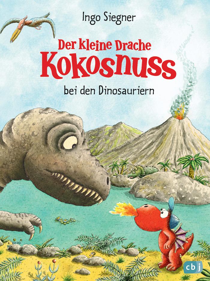 Der kleine Drache Kokosnuss bei den Dinosauriern von Ingo Siegner