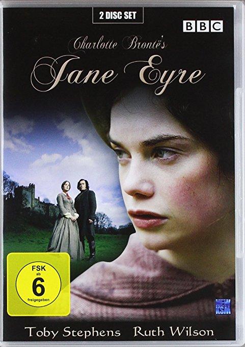 Jane Eyre Verfilmung 2006 mit Ruth Wilson und Toby Stevens  Booklovin