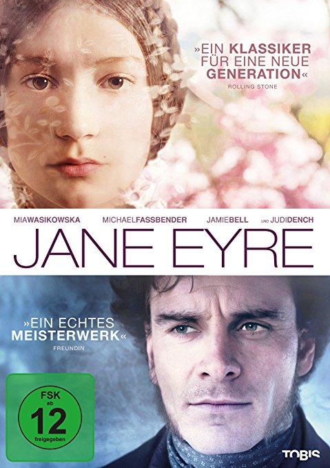Jane Eyre Verfilmung 2011 mit Mia Wasikowska und Michael Fassbender  Booklovin