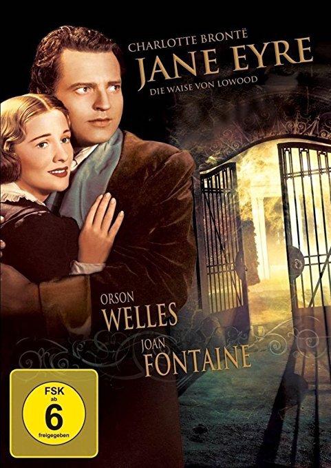 Jane Eyre Verfilmungmit Joan Fontaine und Orson Welles  Booklovin