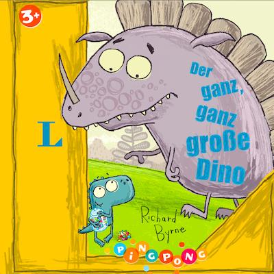 """""""Der ganz, ganz große Dino"""" von Richard Byrne"""