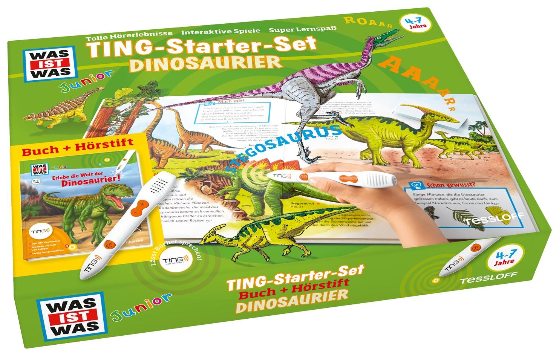 Erlebe die Welt der Dinosaurier - Ting Starter Set