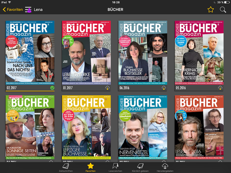 Readly - Magazin Screenshot Booklovin