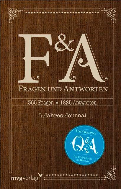 Fragen und Antworten. Das 5-Jahres-Journal   Booklovin