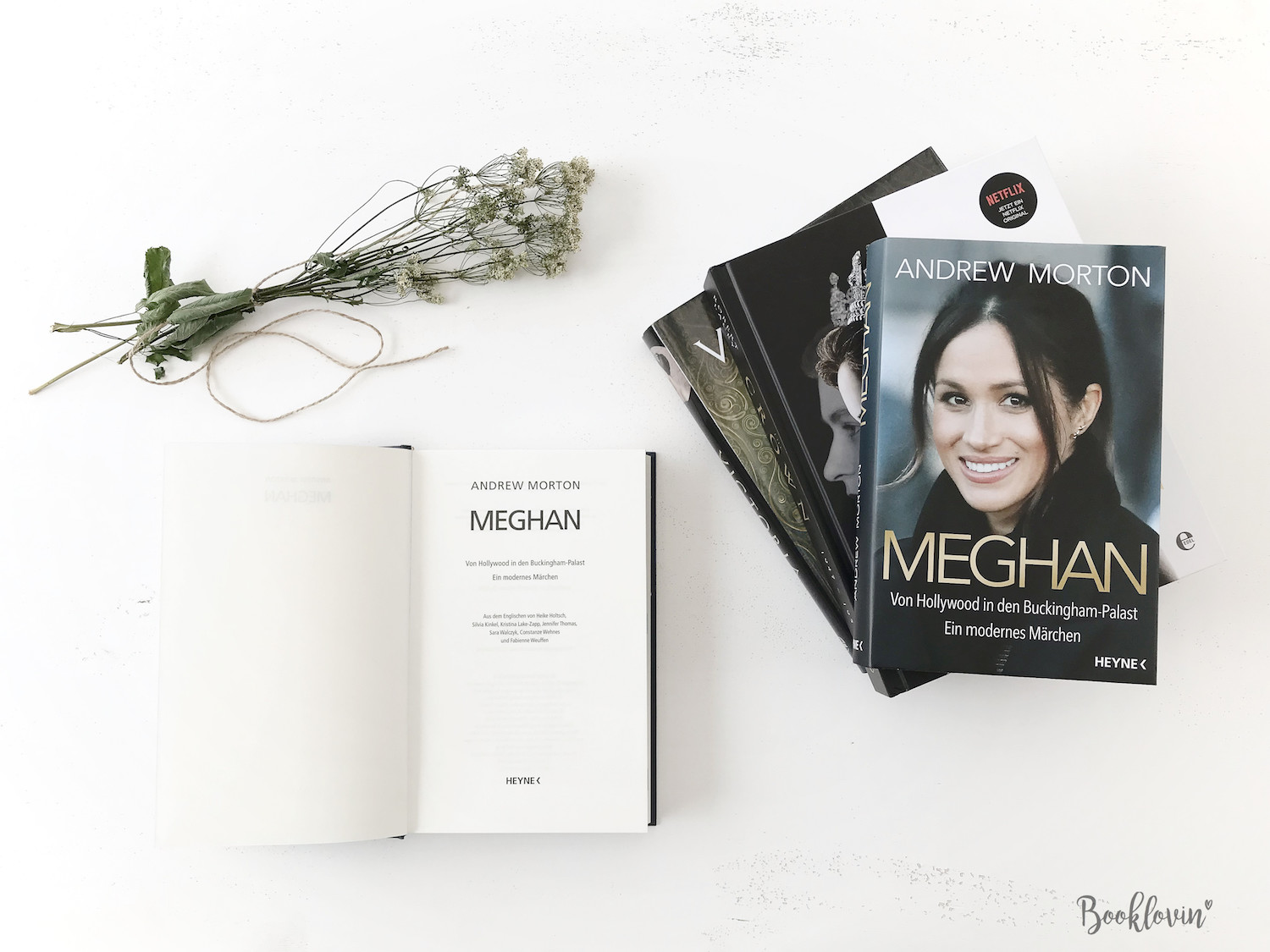 Meghan. Von Hollywood in den Buckingham Palace von Andrew Morton --Bookstagram #Booklovin