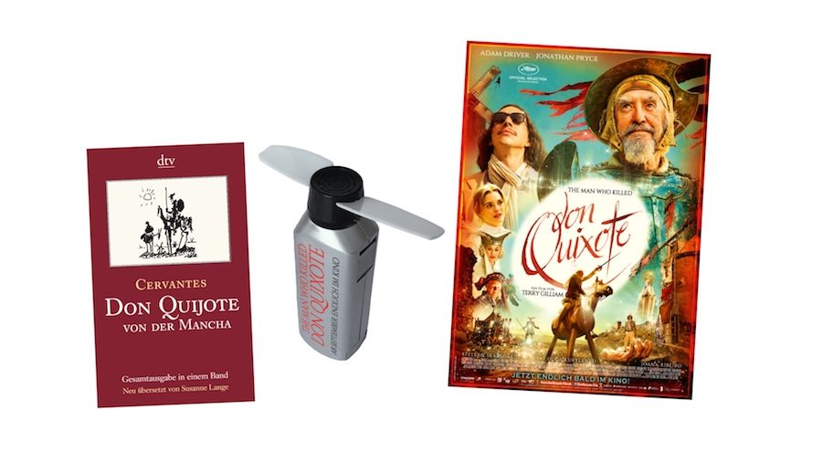 The Man who killed Don Quixote - Gewinnspielpreise