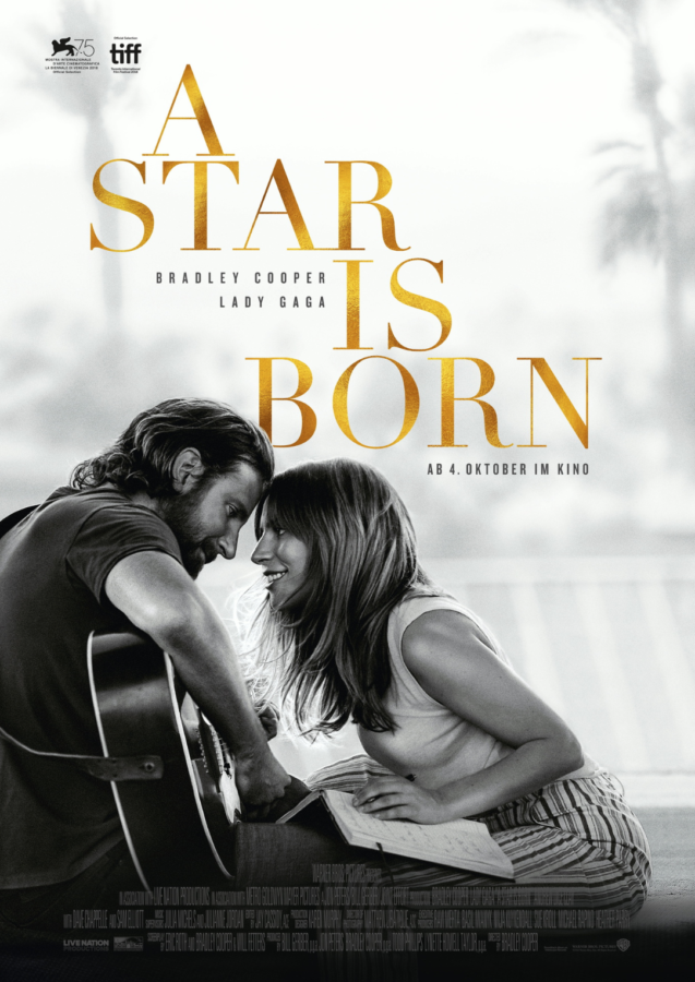 A STAR IS BORN - Hauptplakat