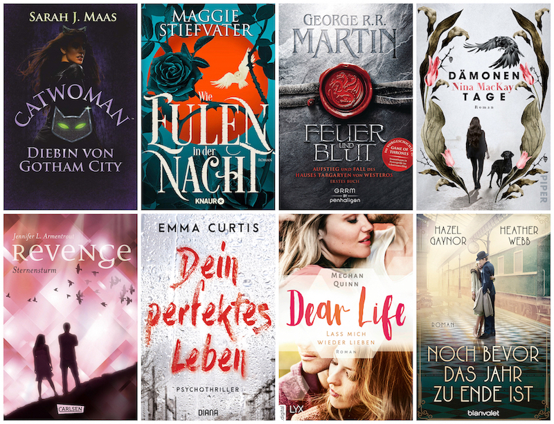 Monthly Booklist - November Highlights 2018