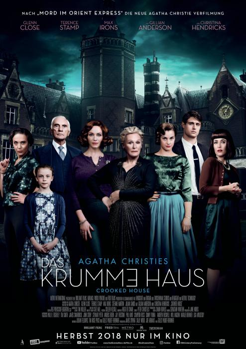 """""""Das krumme Haus"""" (2018) nach Agatha Christie - Hauptplakat"""
