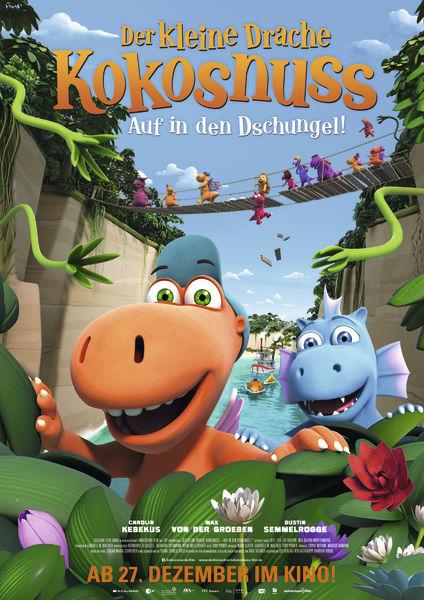 Der kleine Drache Kokosnuss - Auf in den Dschungel! ©Universum Film