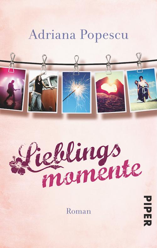 """""""Lieblingsmomente"""" von Adriana Popescu (Buchcover)"""