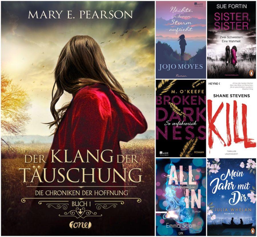 Beitragsbild: Monthly Booklist - Januar Highlights 2019