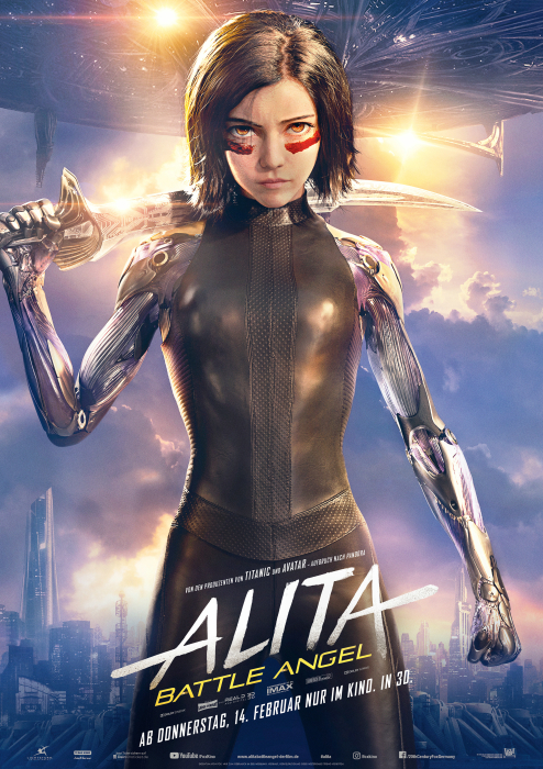 "Hauptplakat ""Alita. Battle Angel"""