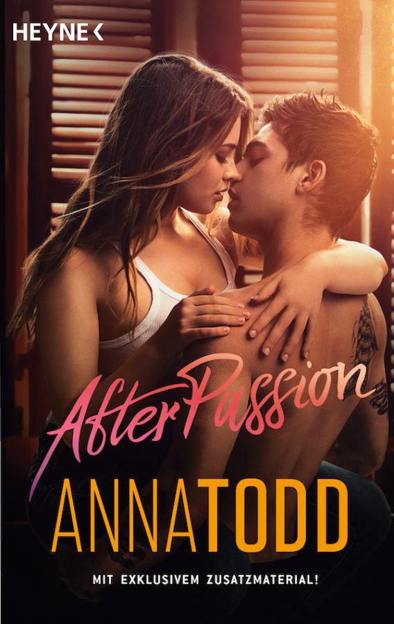 After passion von Anna Todd. Buchcover der Filmausgabe mit exklusivem Zusatzmaterial