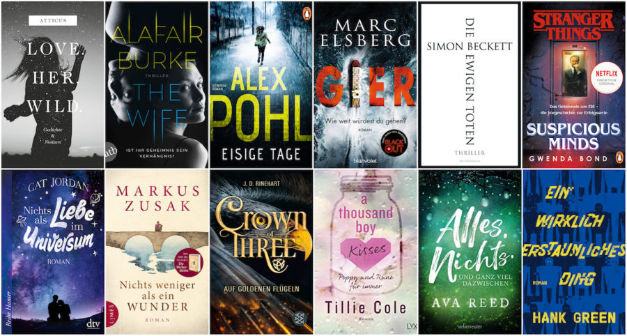 Monthly Booklist - Februar Buch Highlights 2019