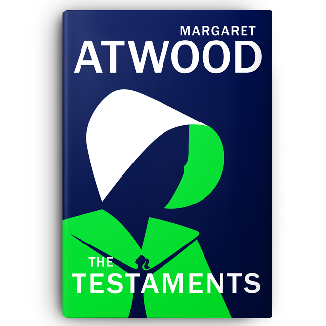 The Testaments von Margaret Atwood (Original-US-Cover)