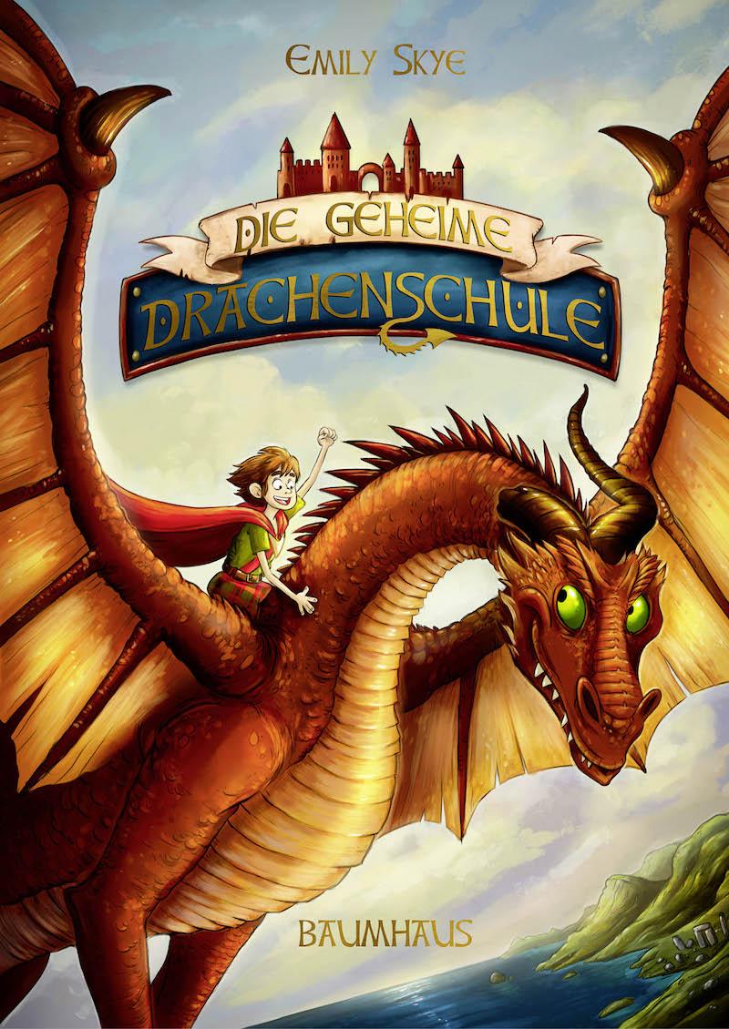 Die geheime Drachenschule von Emily Skye - Buchcover