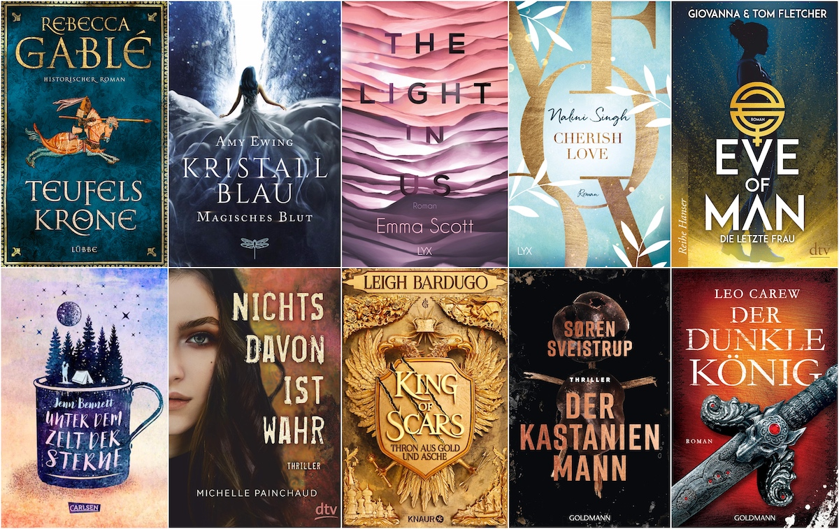 Monthly Booklist - August 2019