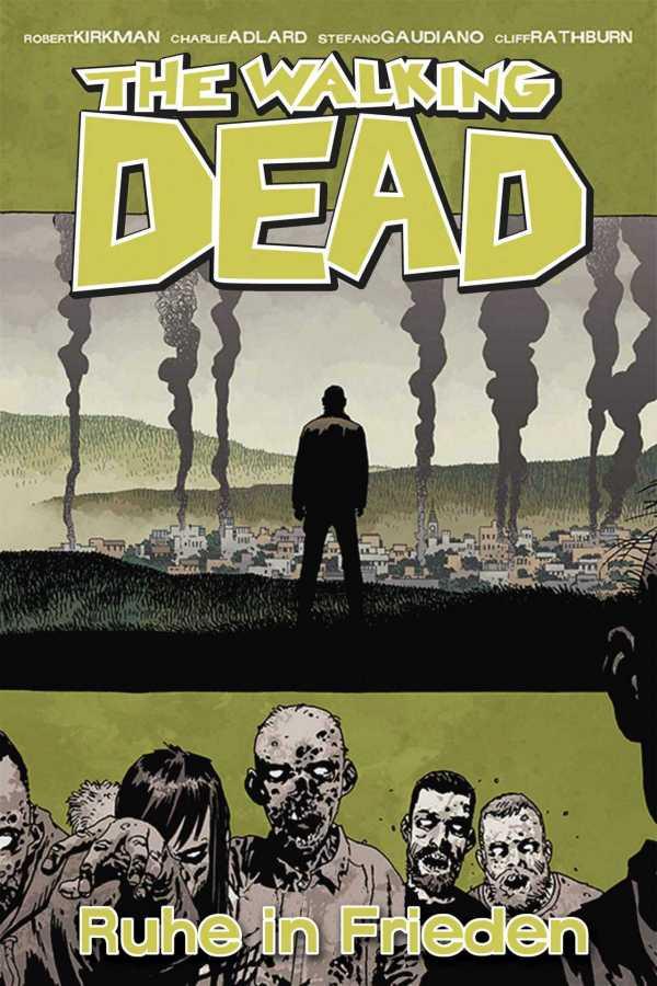 The Walking Dead - Cover von Ruhe in Frieden