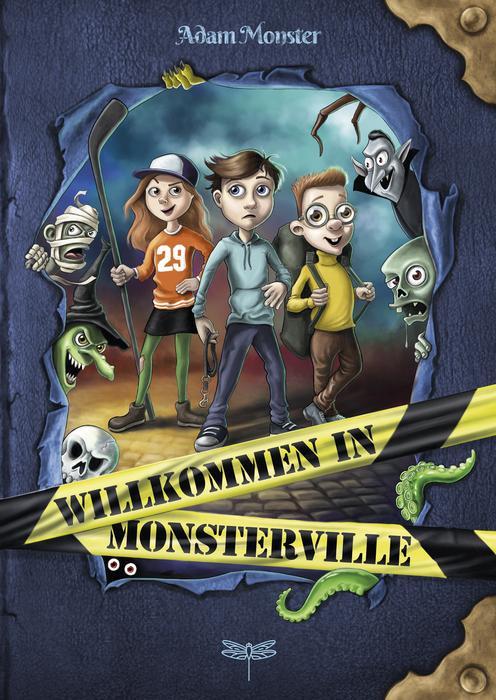 Buchcover Willkommen in Monsterville