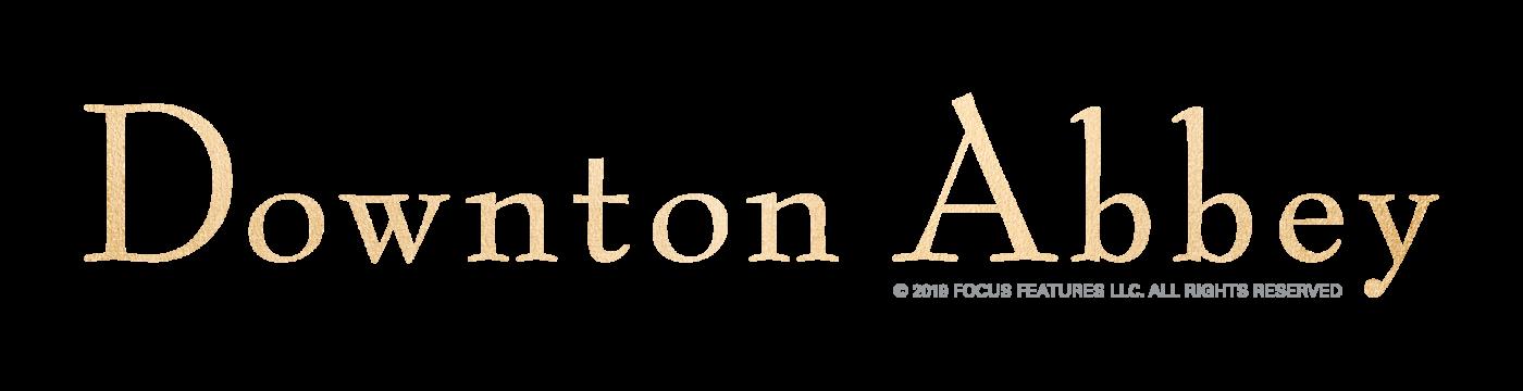 Downton Abbey Schriftzug