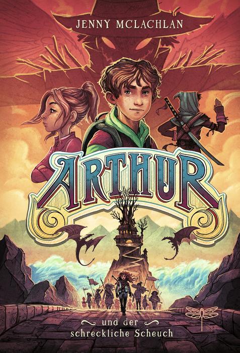 Arthur und der schreckliche Scheuch - Buchcover