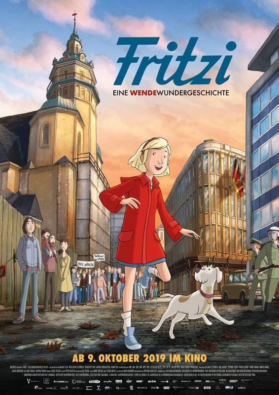 Fritzi. Eine Wendewundergeschichte. Kinohauptplakat