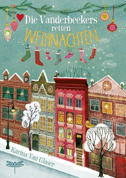 Buchcover: Die Vanderbeekers retten Weihnachten