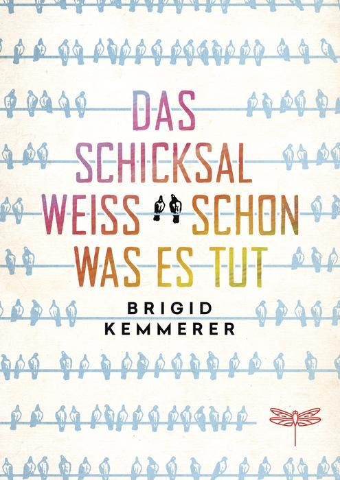 """Buchcover des Jugendbuchs """"Das Schicksal weiß schon, was es tut«"""