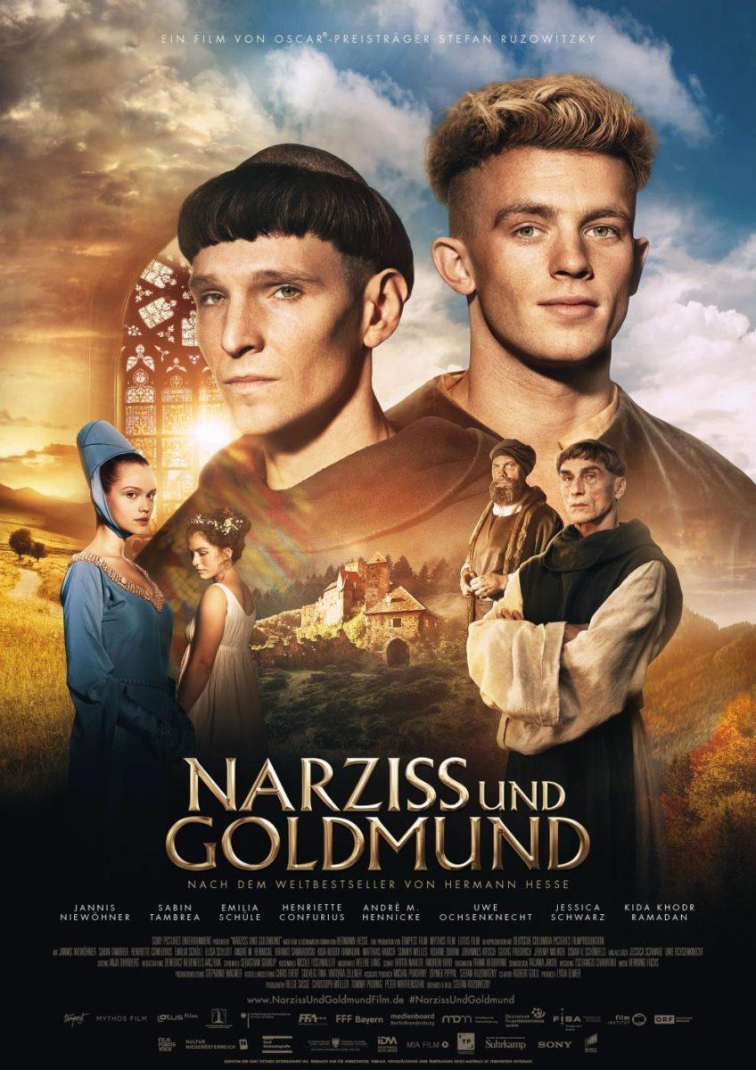 Hauptplakat von Narziss und Goldmund