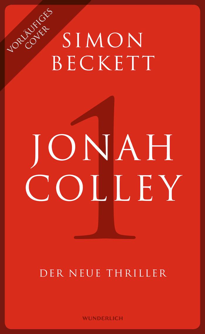 Buchcover von »JONAH COLLEY« von Simon Beckett