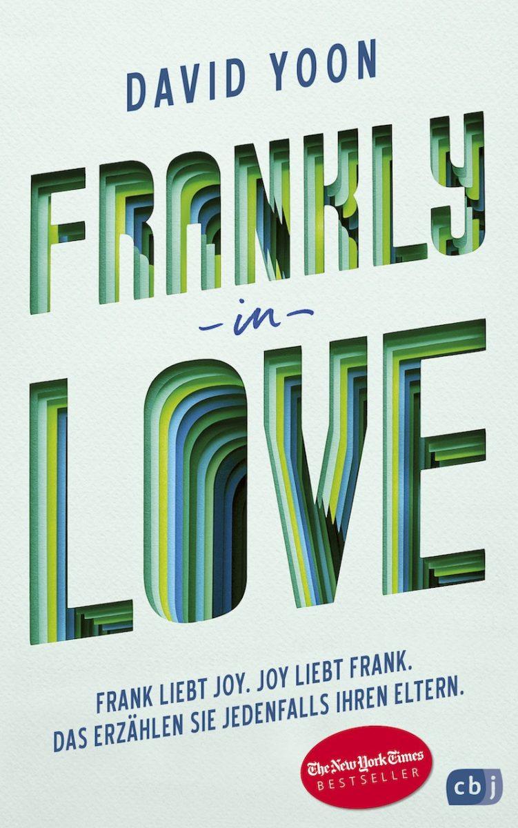 """Buchcover """"Frankly in Love"""" von David Yoon"""
