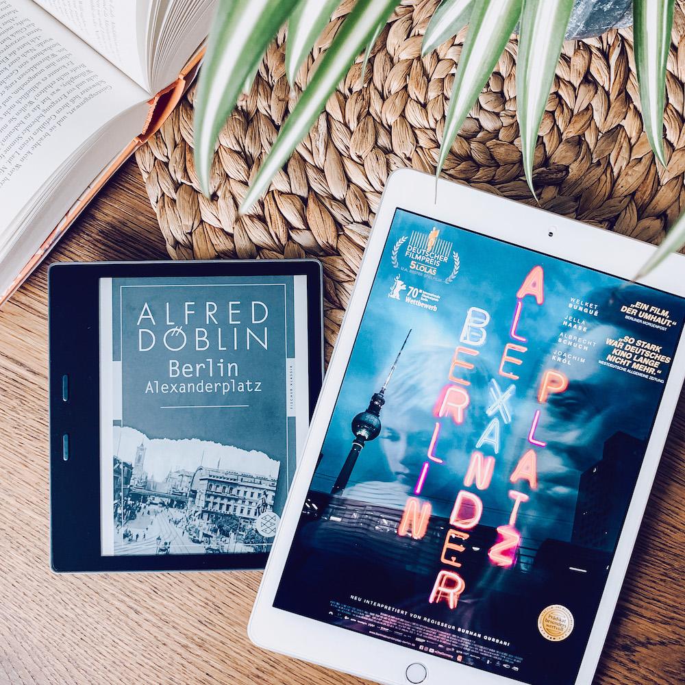 Bookstagram zum Kinostart von Berlin Alexanderplatz