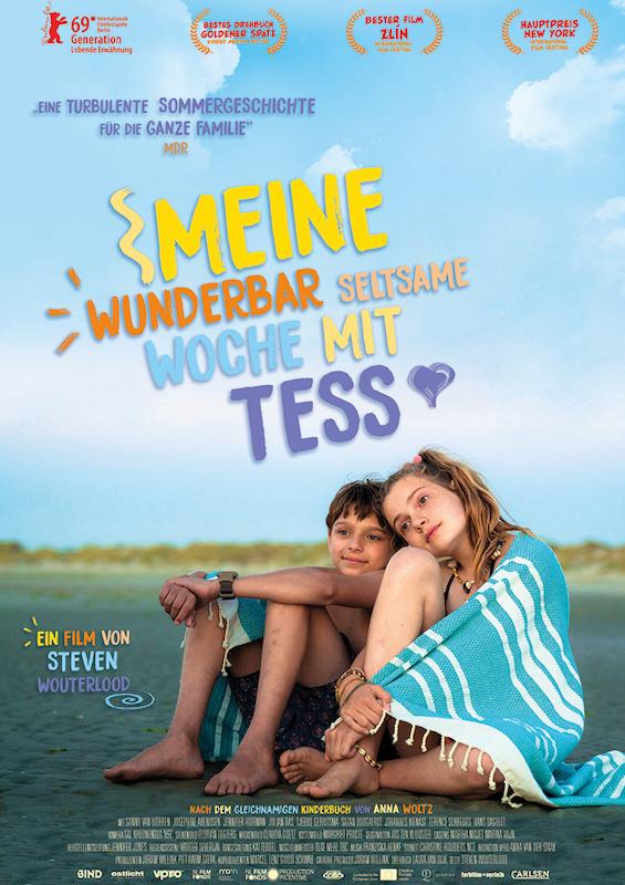 Hauptplakat Verfilmung Meine wunderbar seltsame Woche mit Tess