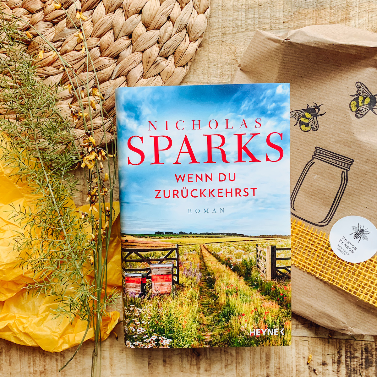 """Bookstagram Nicholas Sparks """"Wenn du zurückkehrst"""""""