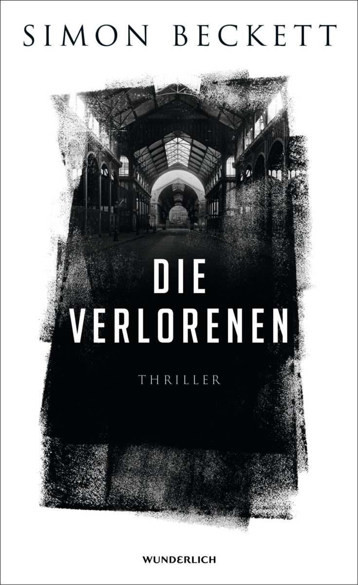 """Buchcover """"Die Verlorenen"""" von Simon Beckett"""