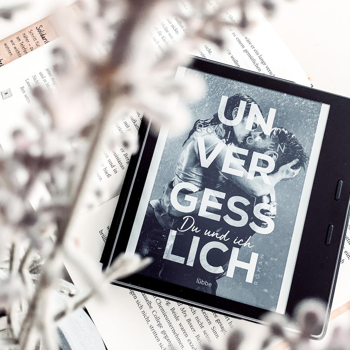 Bookstagram Roni Loren Unvergesslich Band 1 Cover