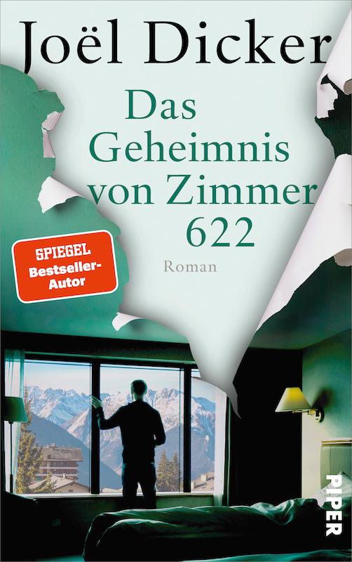 Buchcover Joël Dicker Das Geheimnis von Zimmer 622